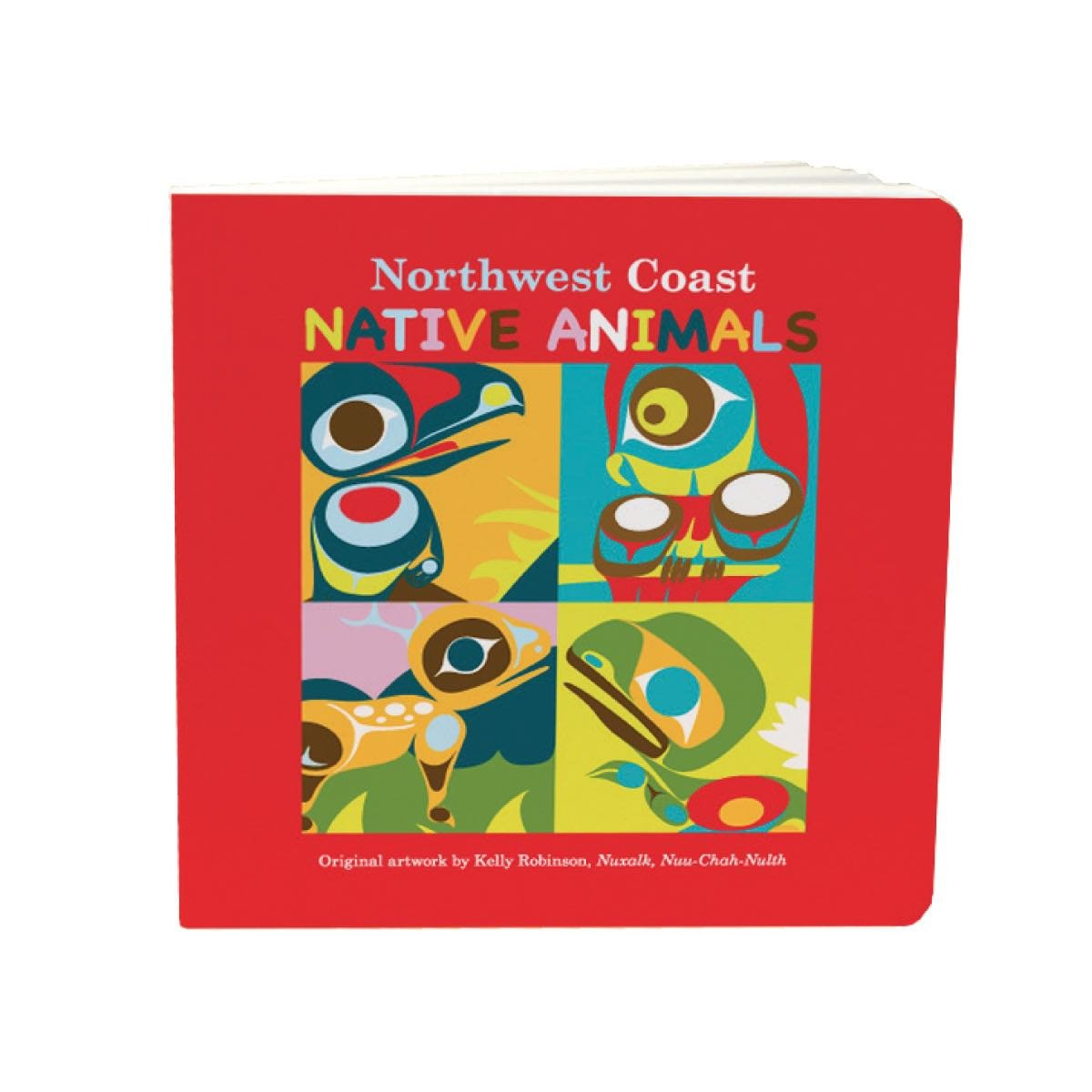 Northwest Coast Native Animals - Children's Board Book