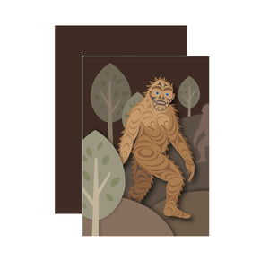 Sasquatch - Unlined Notebook