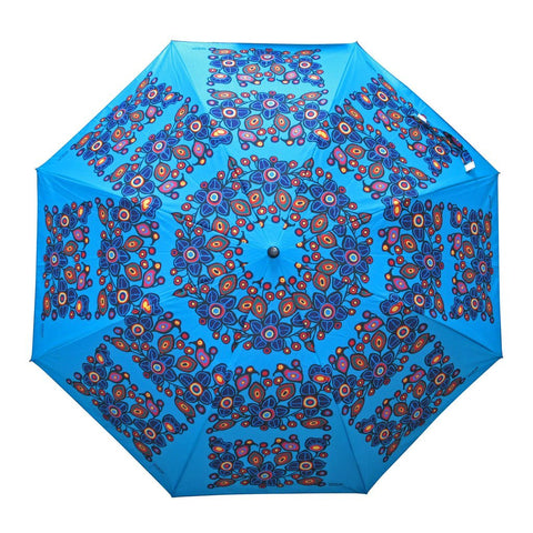Flowers and Birds - Collapsible Umbrella