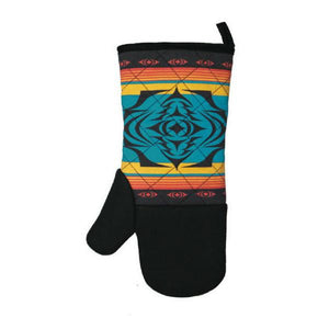 Neoprene Oven Mitt by Simone Diamond, Coast Salish