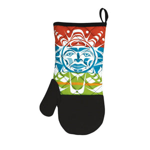 Neoprene Oven Mitt by Paul Windsor, Haisla/Heiltsuk