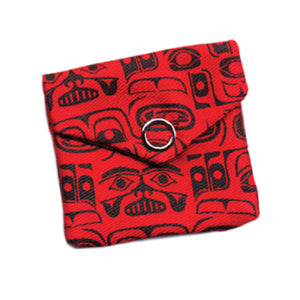 Totem Pocket Spirit Pouch by Ryan Cranmer, Namgis