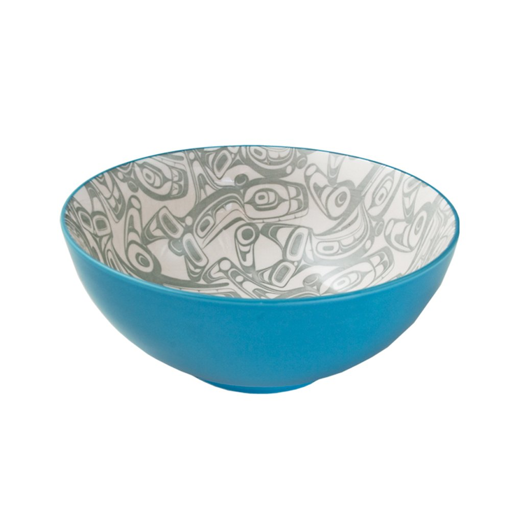 Orca - Large Fine Porcelain Bowl