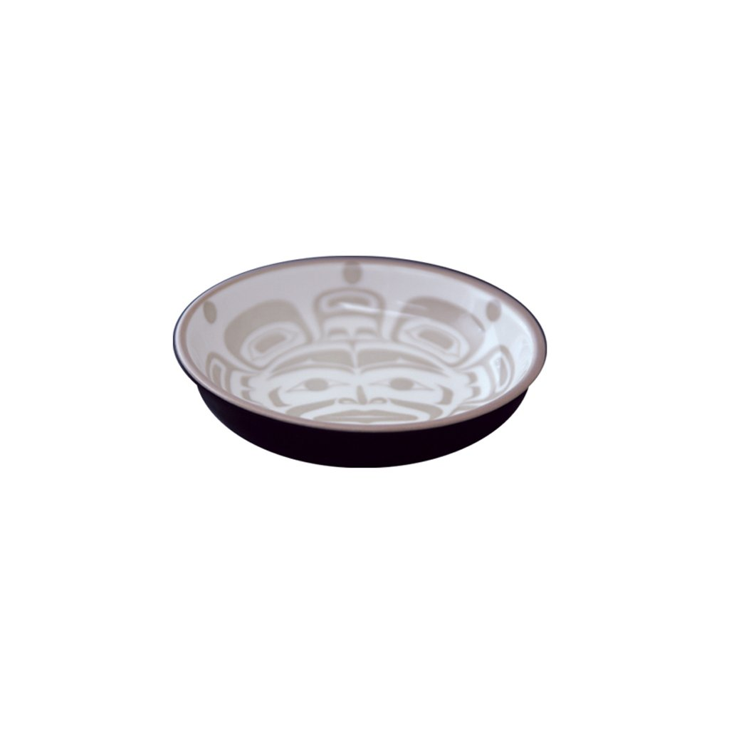 Moon Mask - Small Fine Porcelain Dish