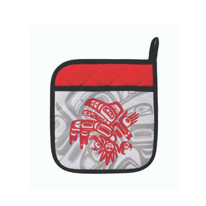 Neoprene Potholder by Morgan Asoyuf, Tsimshian