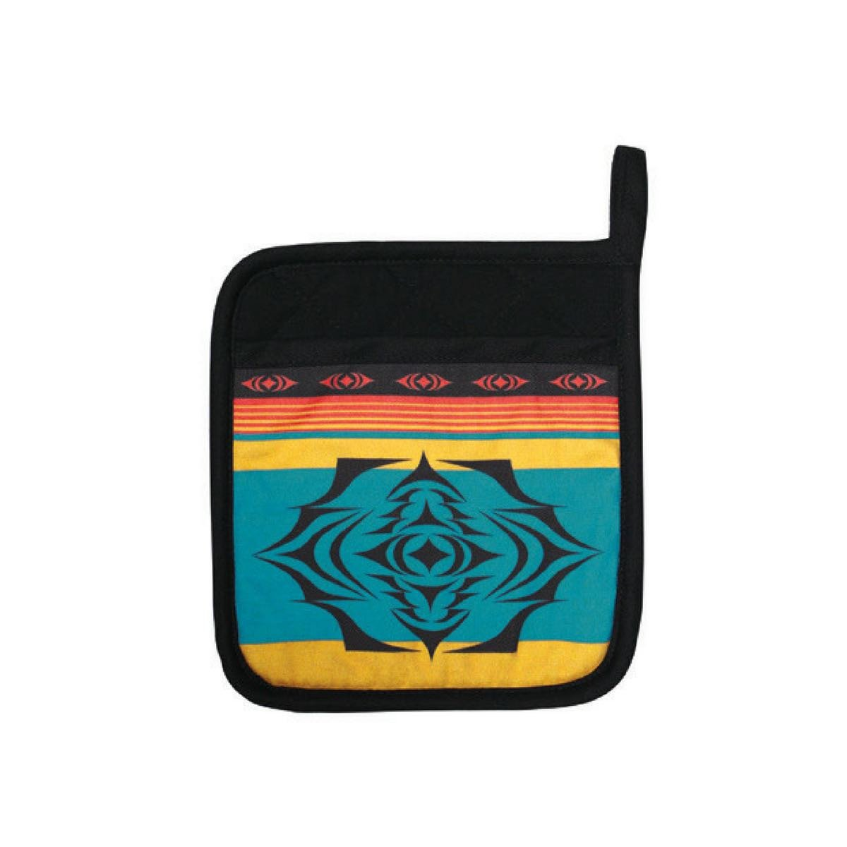 Neoprene Potholder by Simone Diamond, Coast Salish