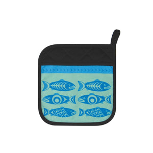 Salmon in the Wild - Neoprene Potholder