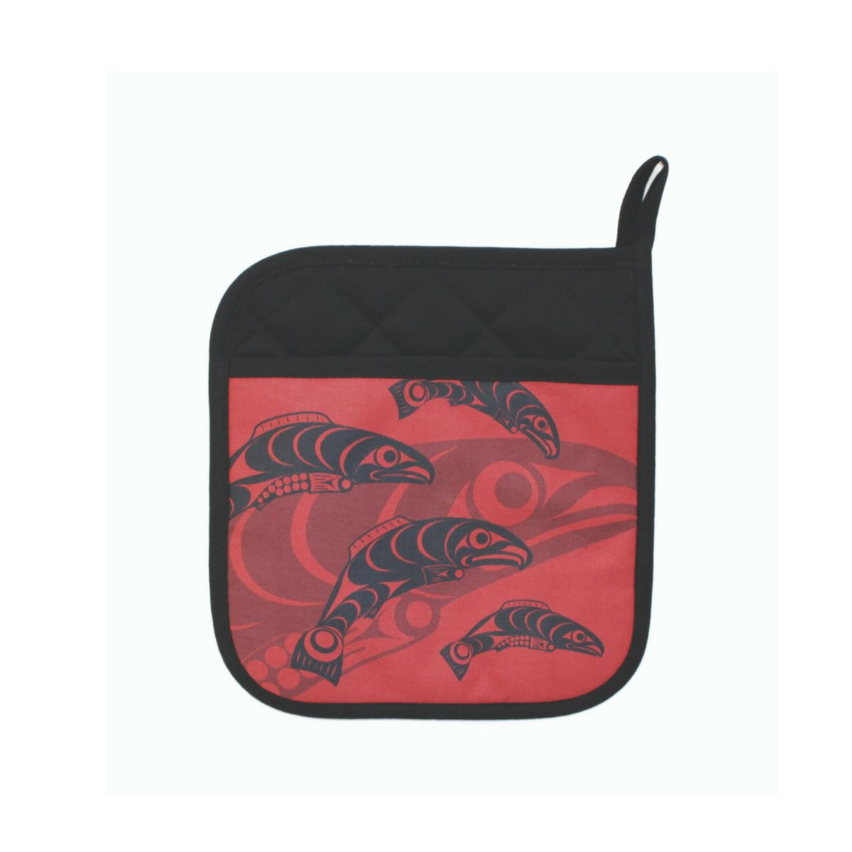 Neoprene Potholder - Salmon