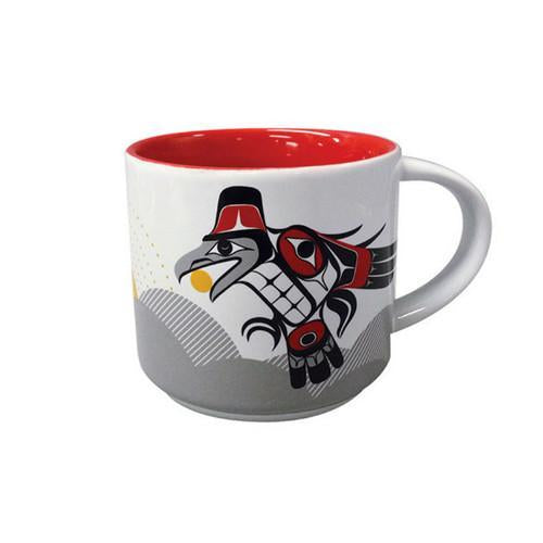 Raven Brings the Light - White Ceramic Mug