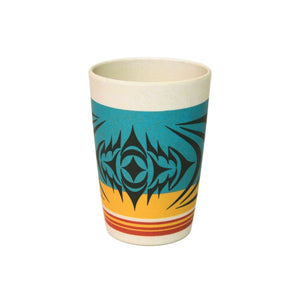 Bamboo Fibre Cup by Simone Diamond,  Coast Salish
