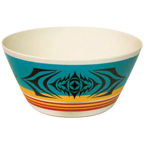 Large Bamboo Fibre Bowl by Simone Diamond, Coast Salish