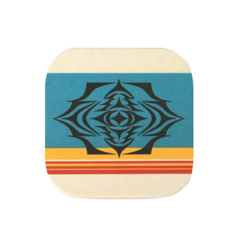 Bamboo Fibre Coaster Set by Simone Diamond, Coast Salish
