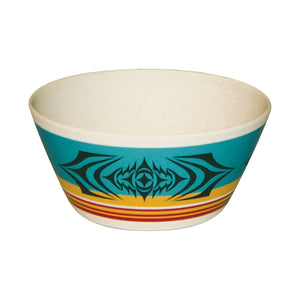 Small Bamboo Fibre Bowl by Simone Diamond, Coast Salish