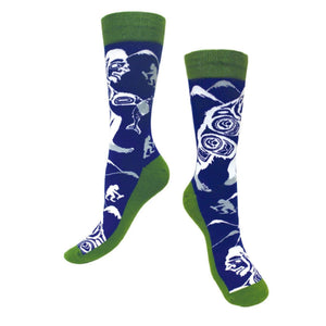 Art Socks by Colby Gates, Haida