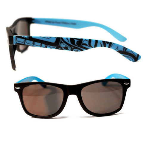 Sunglasses Blue/Black