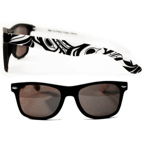 Sunglasses White/Black