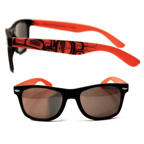 Running Raven - Matte Sunglasses