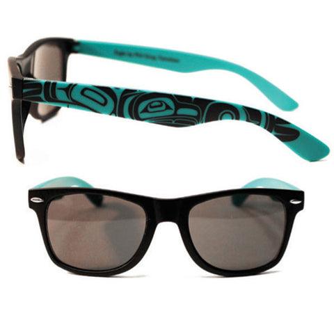 Sunglasses Teal/Black