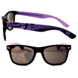 Sunglasses Purple/Black