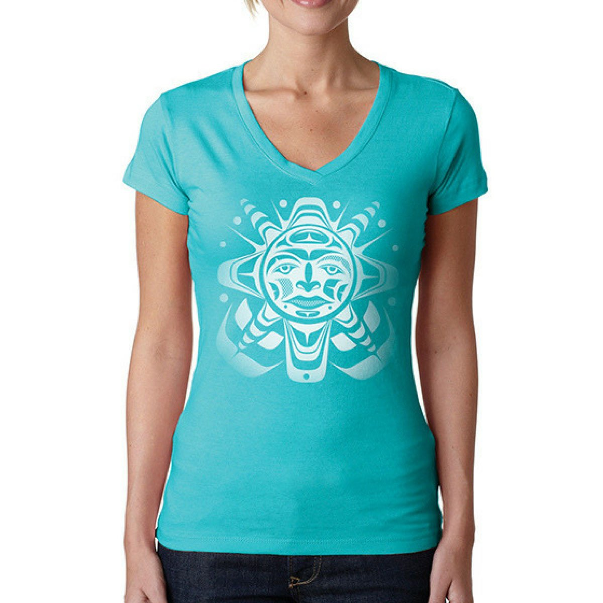 Ladies T-Shirt by Paul Windsor, Haisla/Heiltsuk