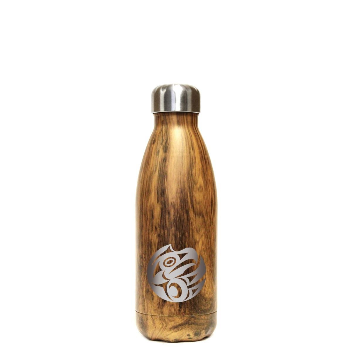 Small Insulated Stainless Steel Bottle by Maynard Johnny Jr., Coast Salish/Kwakwaka'wakw