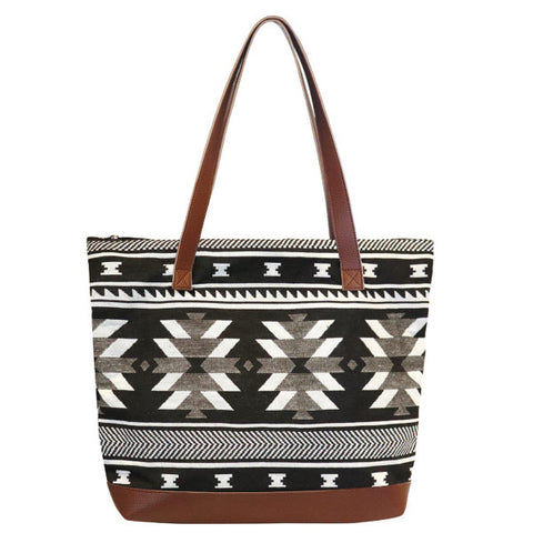 Woven Tote Bag by Leila Stogan, Coast Salish/Musqueam