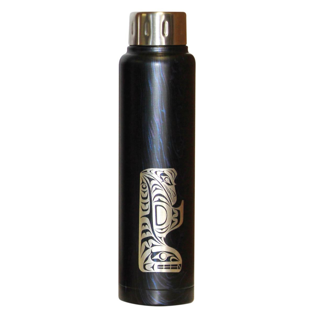 Totem Insulated Stainless Steel Bottle by Maynard Johnny Jr., Coast Salish/Kwakwaka'wakw