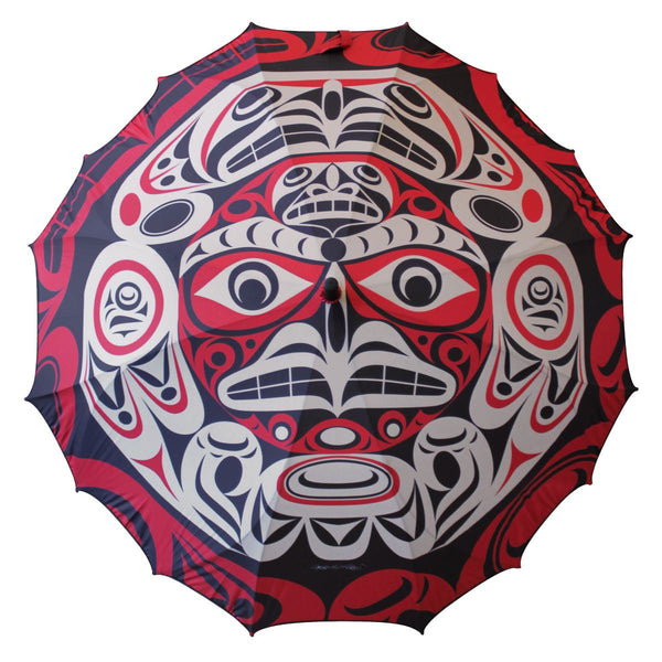 Pacific Umbrella by Joe Wilson-Sxwaset, Coast Salish