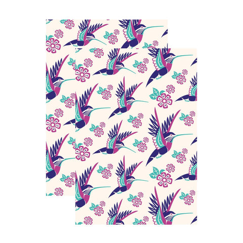 Hummingbird - Unlined Notebook