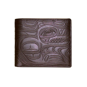 Embossed Wallets by Paul Windsor, Haisla/Heiltsuk