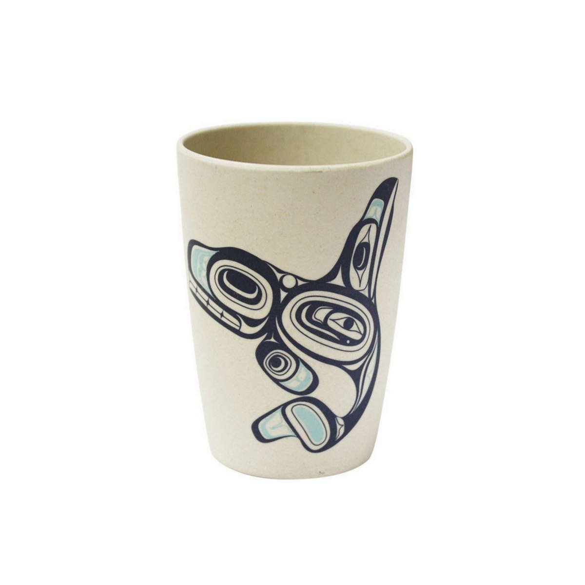 Whale - Bamboo Fibre Cup