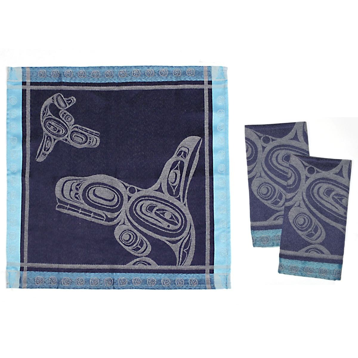 Whale - Cloth Napkins