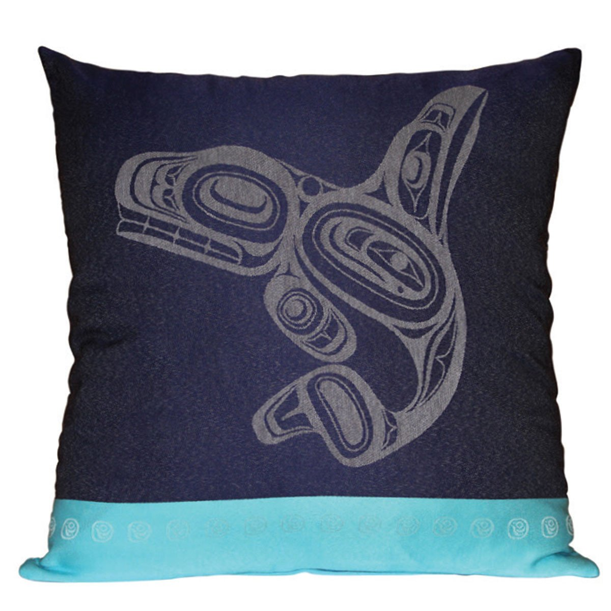 Pillow Cover by Ernest Swanson, Haida