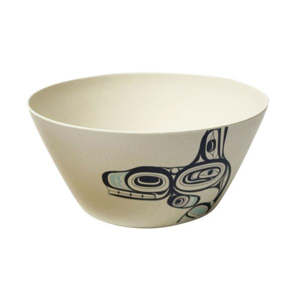 Small Bamboo Fibre Bowl by Ernest Swanson, Haida
