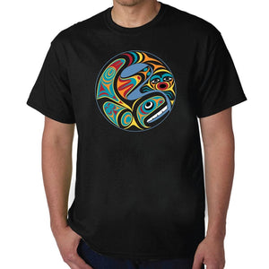 Unisex T-Shirt by Maynard Johnny Jr., Coast Salish/Kwakwaka'wakw