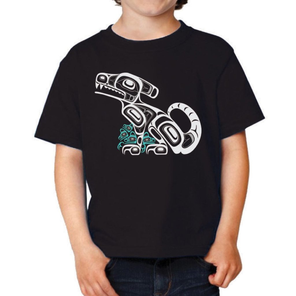 Children's T-Shirt by Corey Bulpitt, Haida