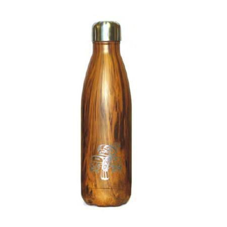 Medium Insulated Stainless Steel Bottle by  Terry Starr,  Tsimshian