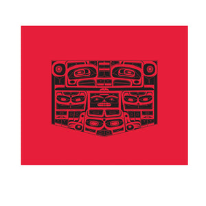 Cotton Blend Blanket by Corey Bulpitt, Haida