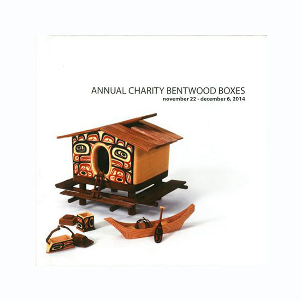 Lattimer Gallery Annual Charity Bentwood Boxes - Book Collection