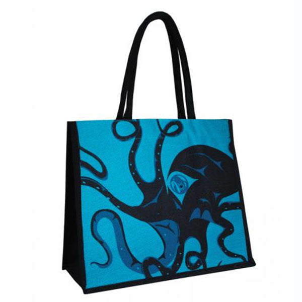 Jute Tote Bag by Andrew Williams, Haida