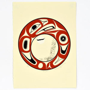 Limited Edition Print by George Pennier, Coast Salish