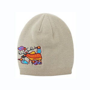 Knitted Toque by Norval Morrisseau, Ojibway