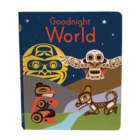 Goodnight World - Children's Board Book
