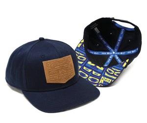 Cotton Twill Snapback Hat by Corey Bulpitt, Haida