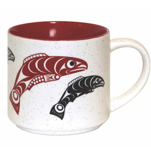 Ceramic Mug by Francis Horne Sr., Coast Salish