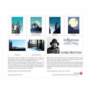 Boxed Set of 12 Note Cards by Mark Preston, Tlingit