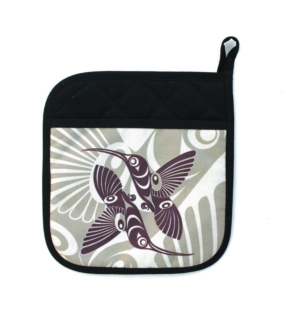 Neoprene Potholder by Francis Horne Sr., Coast Salish