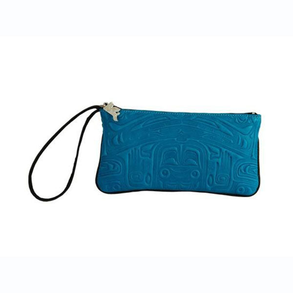 Deerskin Leather Wristlets by Clifton Fred, Tlingit