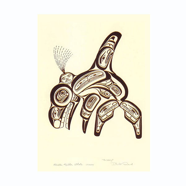 Embossed Art Cards by Bill Reid, Haida