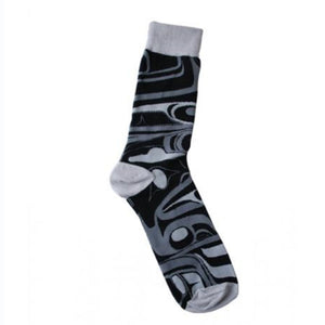 Art Socks by Bill Helin, Tsimshian